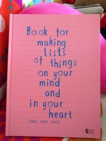quaderno delle liste